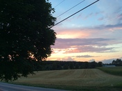 Beautiful Sunset in Stewartstown Pennsylvania