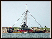 July 17, 2018 - Plymouth Harbor - Draken - Largest Viking Ship in the World.