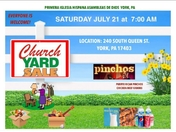 We are trying to place this flyer for our annual yard sale at our church