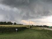 Tornado north of pella