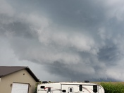 Storm clouds near Cedar and Kirkville