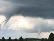 Tornados at 3 pm.
