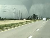Tornado was heading toward Leighton