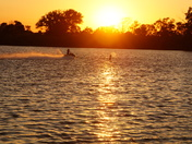 A great evening for sunset photos - this at Lake Manawa