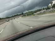 71 south,, from blueash about 3p.m