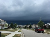The view from Burlington, KY this afternoon.