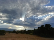 Beautiful sky's of New Mexico