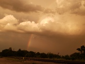 In Lagrange ky. Coming home from work . Nd took this beautiful pic .