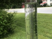 That is the total since Friday we got 3 inches today I'm at the Adams and scioto county bill day