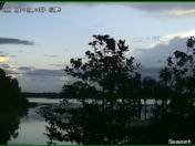 Snapshot from one of our cameras on Lake Lizzie, facing west.