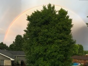 Double rainbow!  Elizabethtown, KY