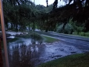Photo of the flooding in Monroe Valley, in between Fresericksburg and Lickdale.