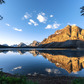 Bow Lake in Tranquility, Banff National Park, Alberta