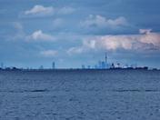 Toronto seen from lake Ontario