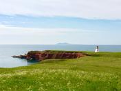 Lighthouse on Magdalen Islands