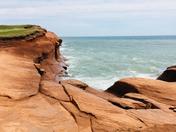 Red Cliffs of Magdalen Islands