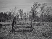An abandoned farm in Winnipeg, Canada