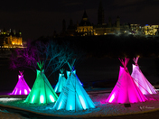 Indigenous Teepees