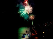 1st July Fireworks in Peachland BC