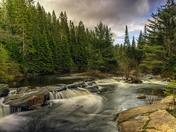 Mew Lake Falls