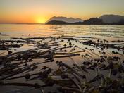 Sunset Gwaii Haanas National Park Reserve