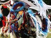 Fancy Dance Powwow Dancer