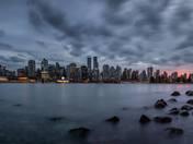 Sunset on the skyline