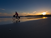 Biking on Long Beach