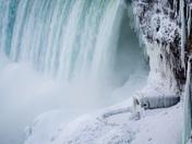 Niagara Falls and the ice