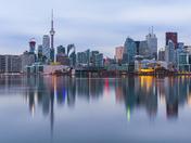Toronto Cityscape Reflected