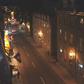 Old Québec City at night
