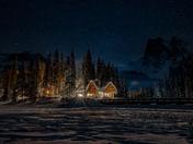 Nightime at the Lake
