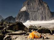 Campsite with a view