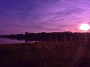 Charlottetown at dusk