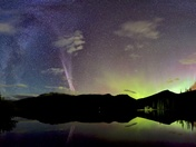 September 11 Aurora curtain #Steve arc