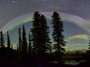 September 11 Aurora curtain full #Steve arc