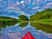Kayaking Spencer Creek