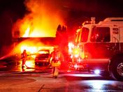 Huge Fire at Vaughan