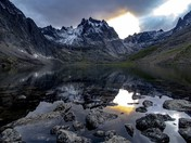 Moody Grizzly Lake
