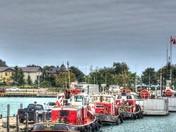Tugs and Fishing Boats