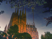 Reflecting on Sagrada Familia