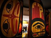 Haida sculptures.
