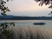 Mitten Lake Sunset