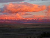 Sunrise over the Livingston Range