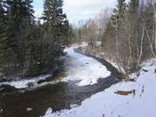 Macintyre River Freeze Up