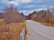 My rural road.