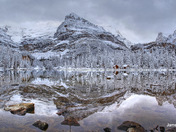A Rocky Mountain wintry wonderland