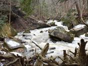 Spencer creek rumbling.