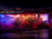 Niagara at Night