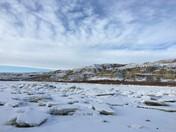 Ice on the South Saskatchewan River